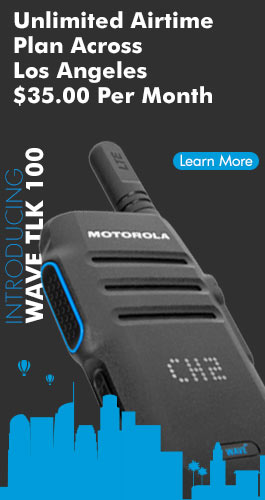 Motorola TLK 100 Los Angeles Southern California Wide-Area Coverage